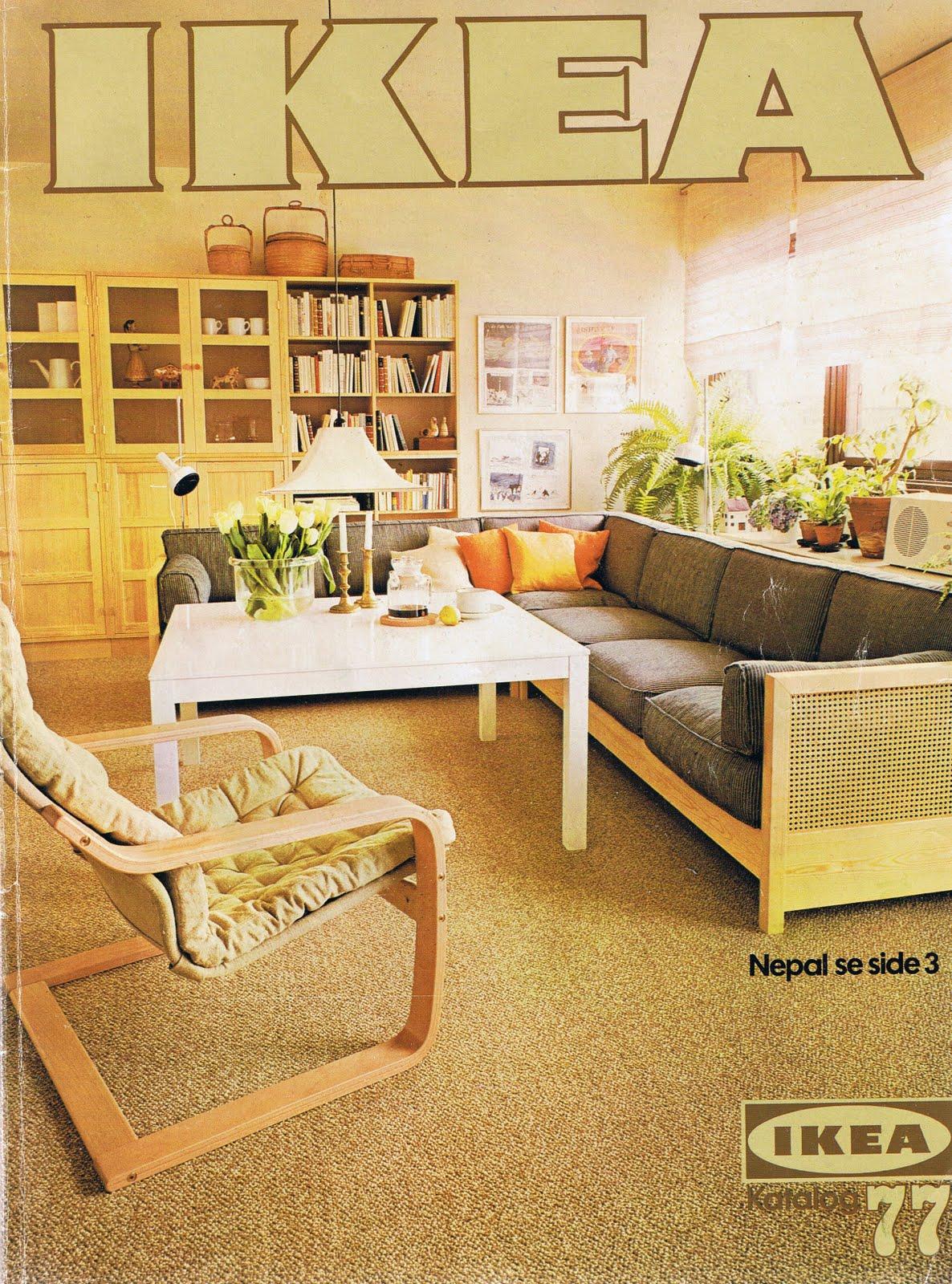 skrivebloggen ikea katalog fra 1977. Black Bedroom Furniture Sets. Home Design Ideas