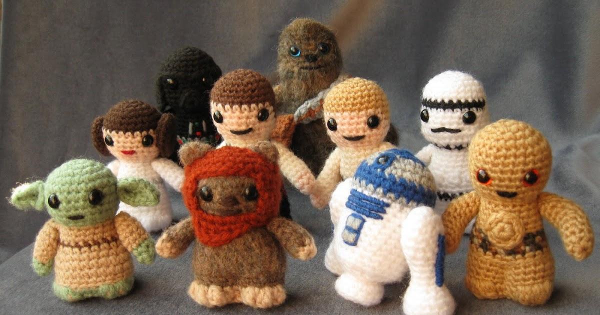 Libro Amigurumi Star Wars : LucyRavenscar - Crochet Creatures: Star Wars Mini Amigurumi