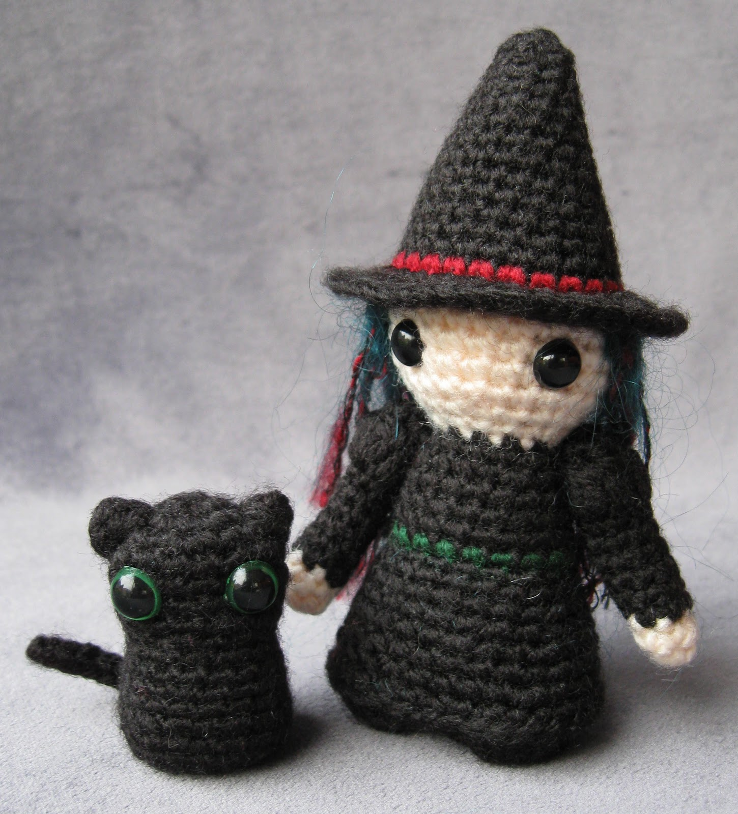 Amigurumi Black Cat Pattern : LucyRavenscar - Crochet Creatures: November 2010