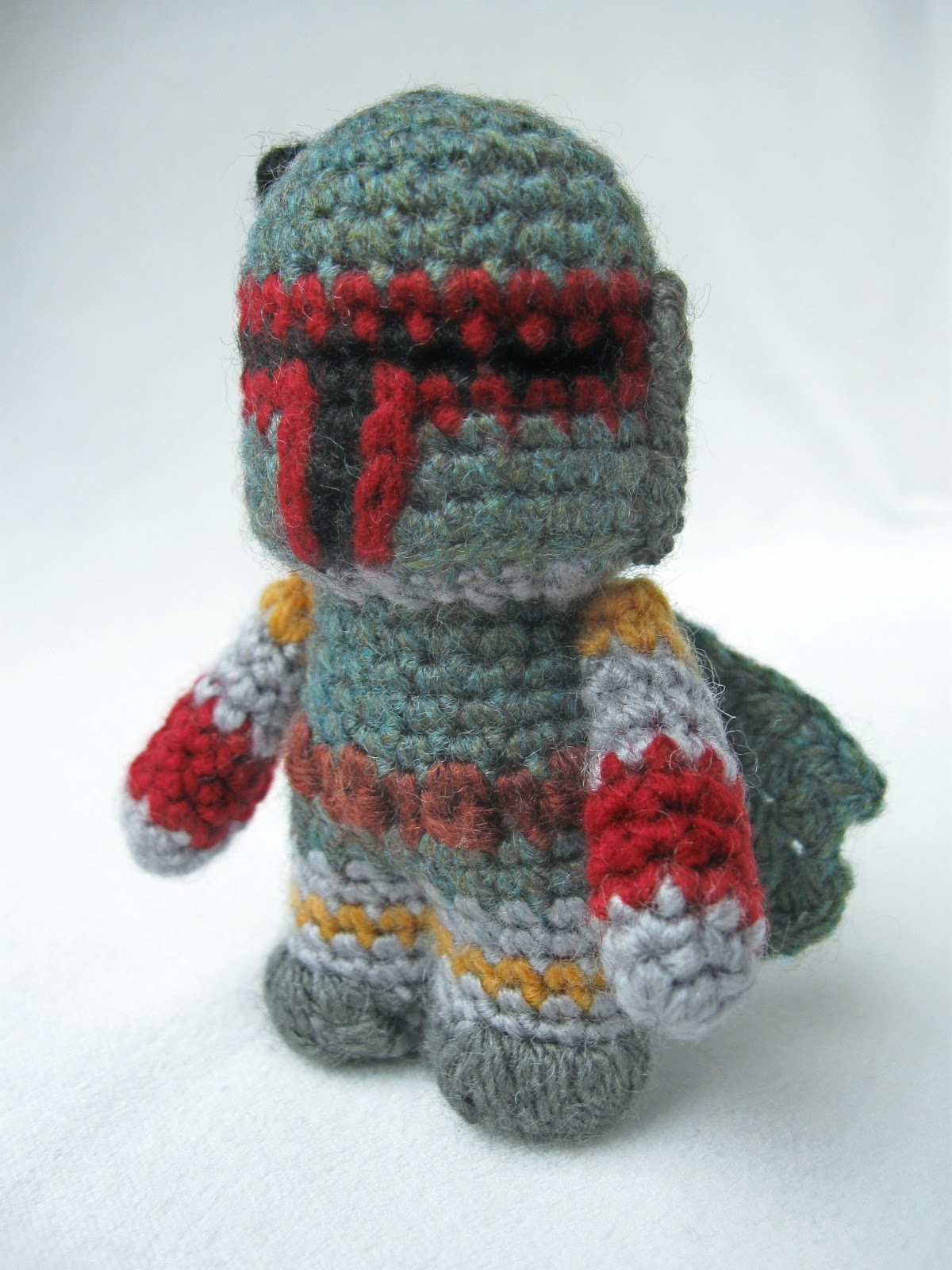 Crochet Patterns Star Wars : LucyRavenscar - Crochet Creatures: Boba Fett - Mini Amigurumi