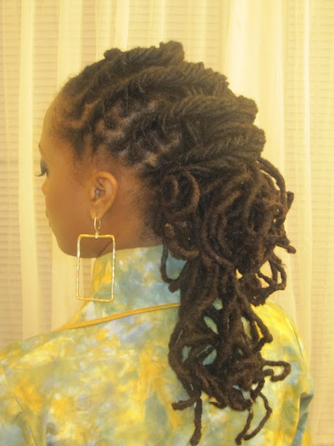 Crocheting Locs : HOW TO CROCHET DREADLOCKS Crochet For Beginners