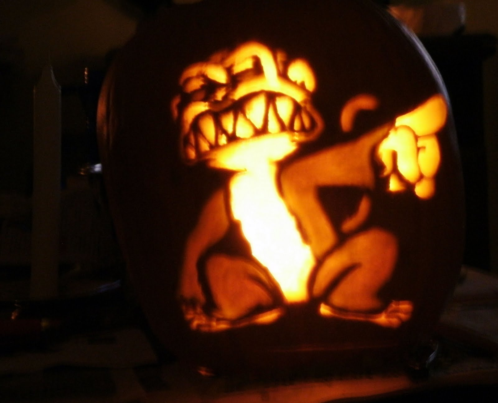 Easy wolf pumpkin carving stencils search results