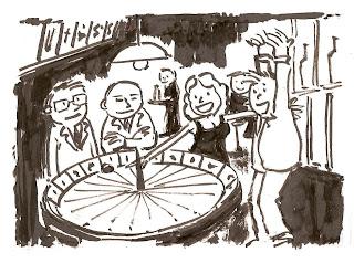 Charges e Ilustrações por Laércio Eugênio: ilustração do cassino