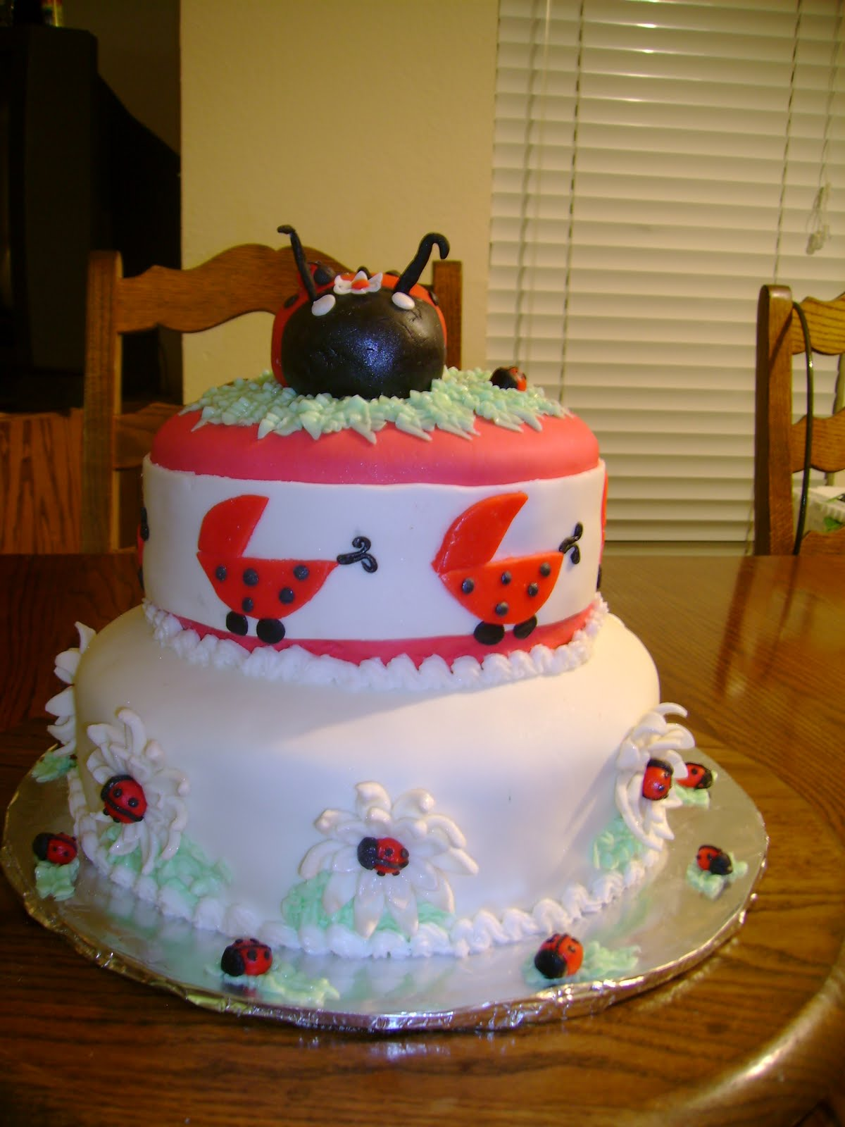mama ruth 39 s cakes lady bug baby shower cake