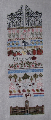 Finished Ottawa Sampler