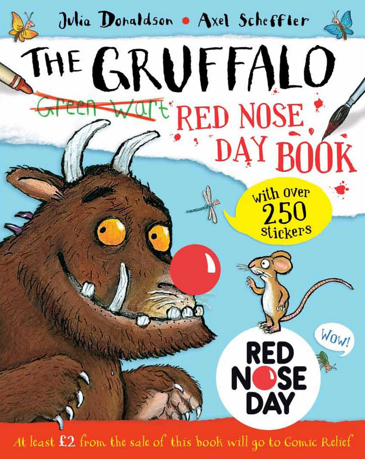 Beatties book blog unofficial homepage of the new zealand book have a monster red nose day with the gruffalo amipublicfo Image collections
