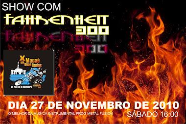 Show com Fahrenheit 300 no X Encontro de motos de Macaé