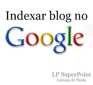 Como indexar o meu blog no google
