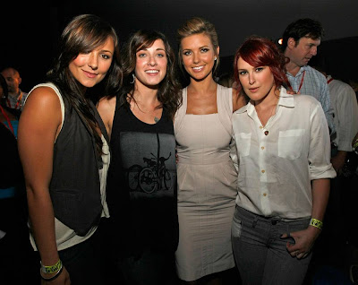 Briana Evigan, Margo Harshman, Audrina Patridge and Rumer Willis of