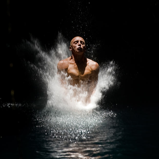 Gary Hunt won the 2010 Red Bull Cliff Diving World Series