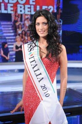 Miss Italia 2010, Francesca Testasecca Porta a Porta
