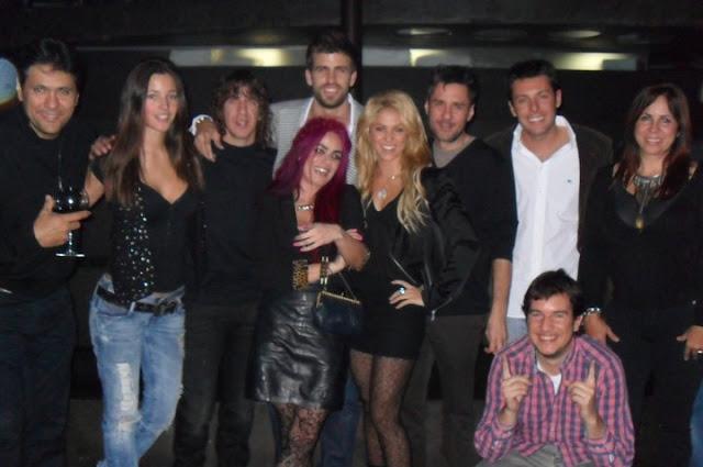 Gerard Piqué con Shakira
