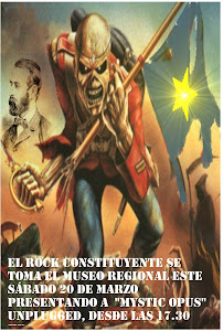 Rock Constituyente. Mystic Opus Sesión Electro-unplugged