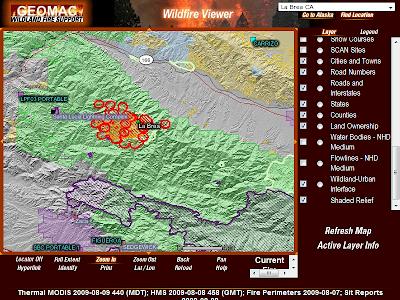 Current La Fire Map.La Brea Fire Firefighter Blog