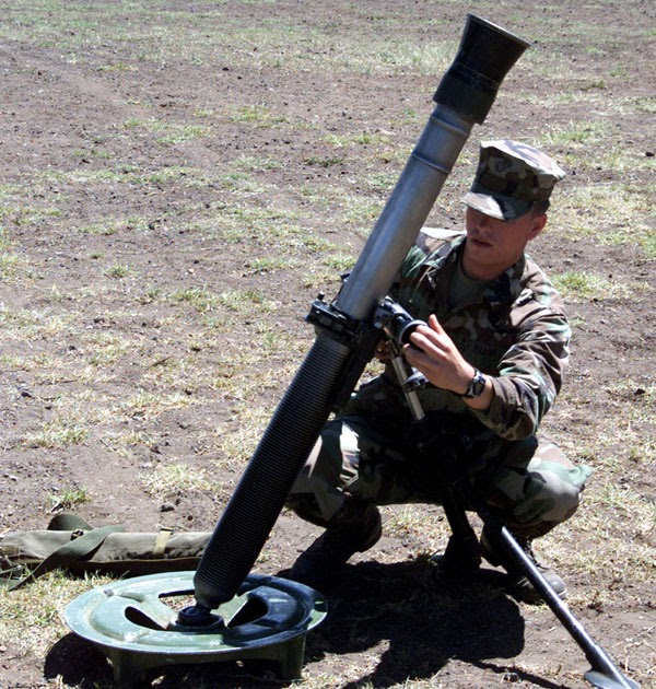 81mm Mortar System : Machines for war various types of american and german mortars