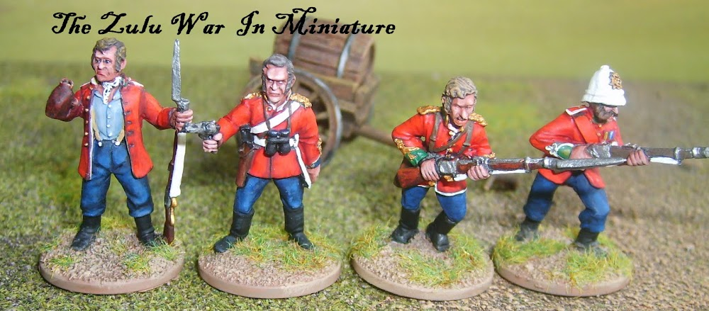 The Zulu war in Miniature