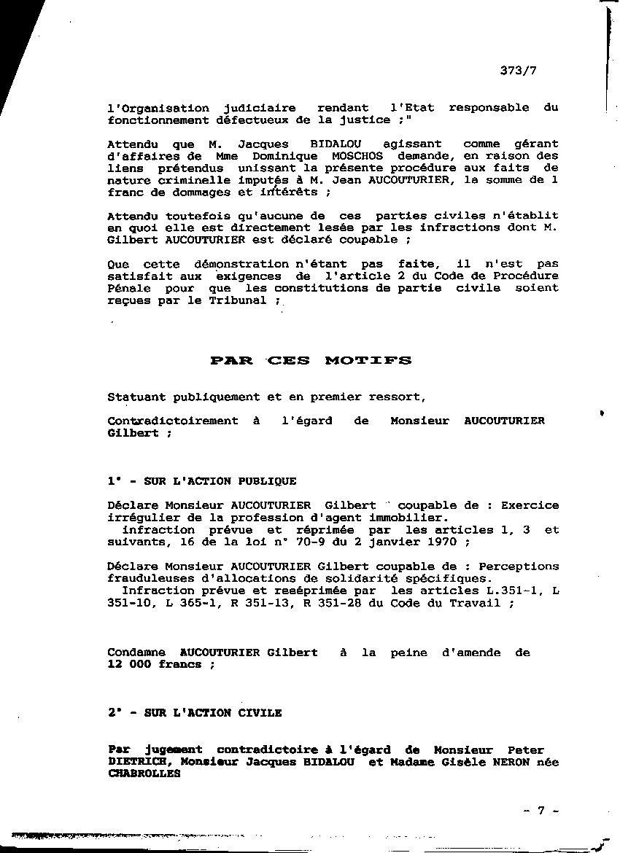 Complot politique escroqueries justice notaires for Frais de notaire meuble
