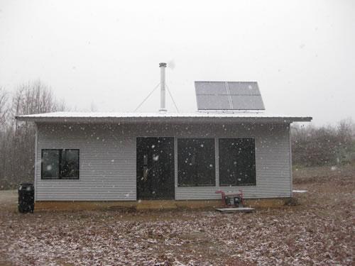 Passive solar do yer stuff in the off grid prefab house for Passive solar prefab homes