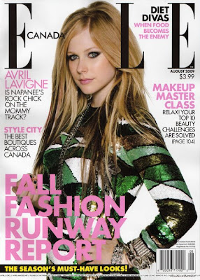 avril lavigne magazine covers