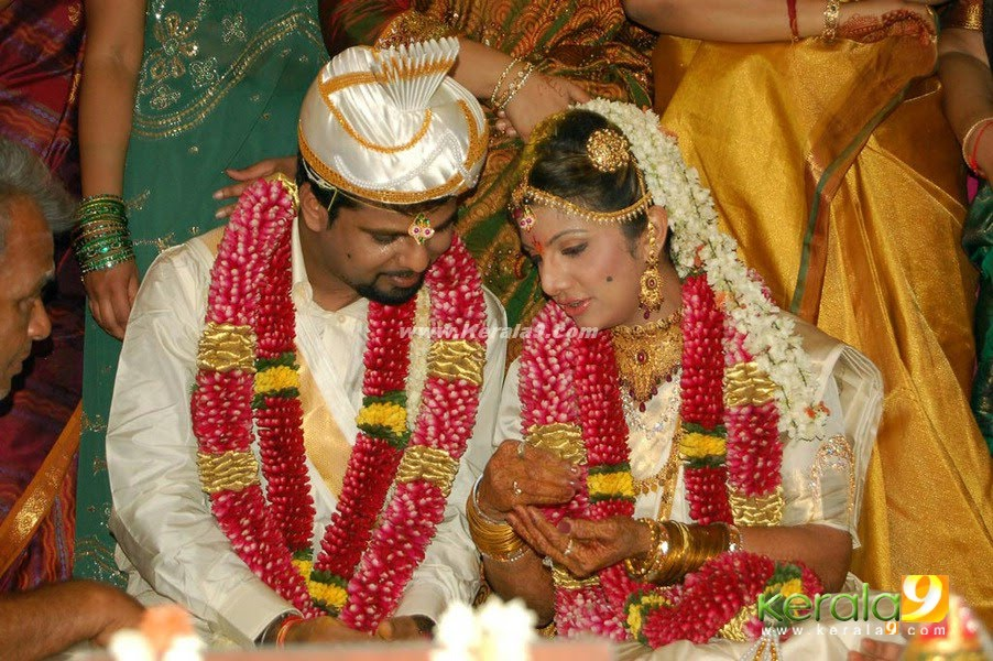 Actress Rambha Marriage Photo | Rambha Wedding Pictures