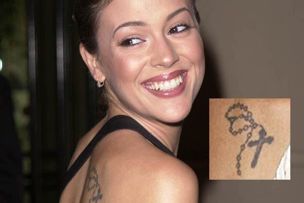 female celebrity tattoos capseacusiz. Black Bedroom Furniture Sets. Home Design Ideas