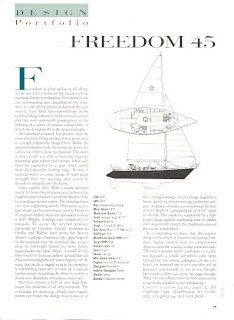 1992 Boat Review Freedom 45 Yacht on vintage classic jaguar cars
