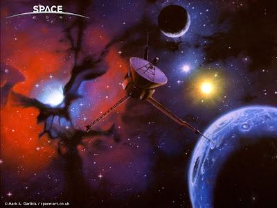 Mark Garlick Space Art