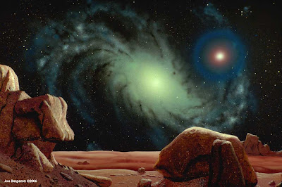 Joe Bergeron Space and Astronomical Art