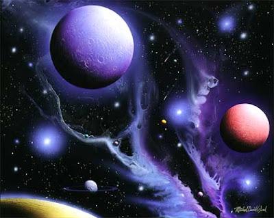 Michael David Ward Space Art
