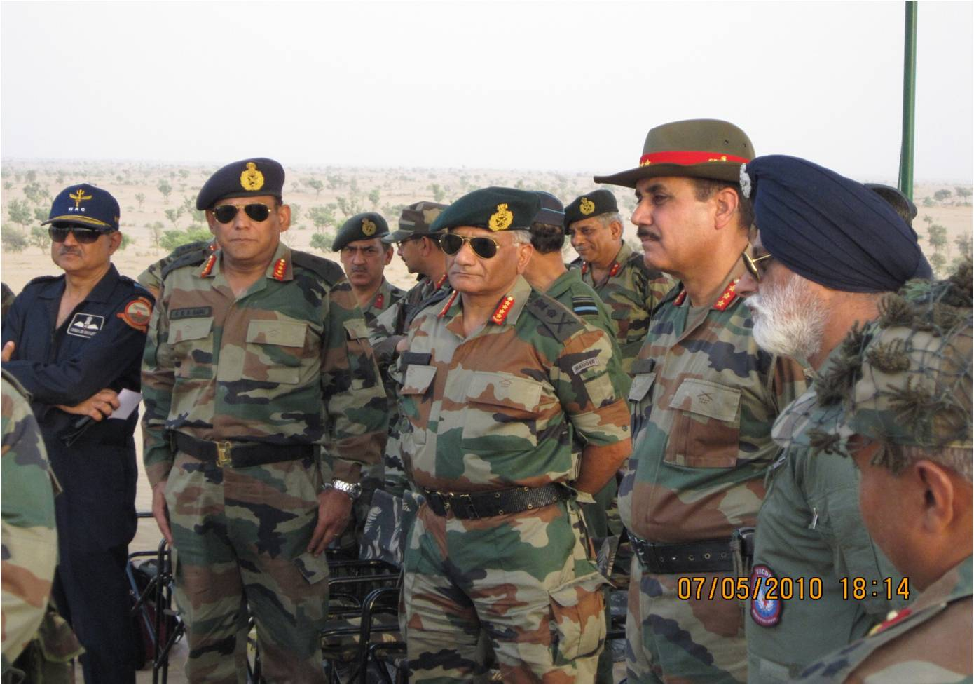 PHOTOS Indian Army Chief Visits Strike Corps For Exercise Yodha Shakti Warrior Strength