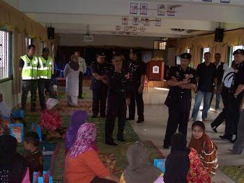 KSBK Menyambut rombongan YDH OCPD K.Bharu & Rombongan Melawat Mangsa Banjir