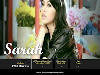 Sarah - I Will Miss U