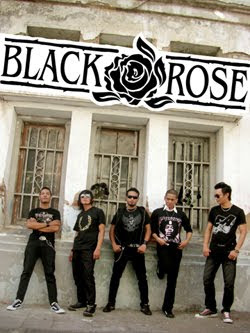 Lyric Chord Band Picture music logo foto vokalis gambar Black Rose.