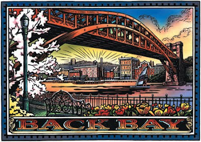 Jim Starr, Back Bay Bridge Illustration