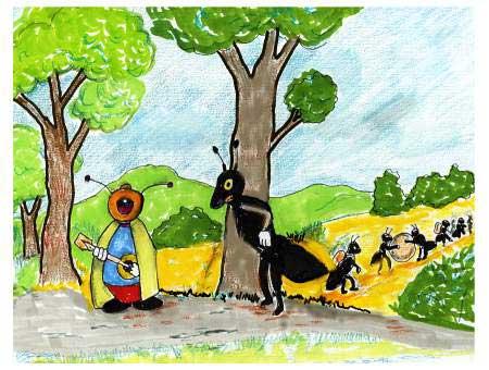 Parcours mai 2010 - Dessin la cigale et la fourmi ...
