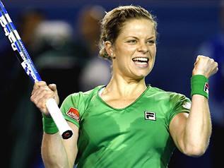 """""""Aussie Kim"""" Clijsters vann!"""