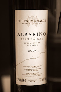 Albariño en Fortnum and Mason
