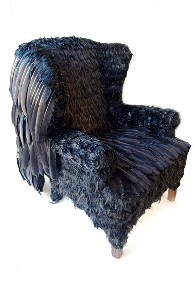 Ordinaire ... Fall/winter 2010 Collection Inspired By Byzantine Art Made Me Think How  Amazing It Would Be To Create Interiors And Furniture Pieces Covered In  Feathers ...