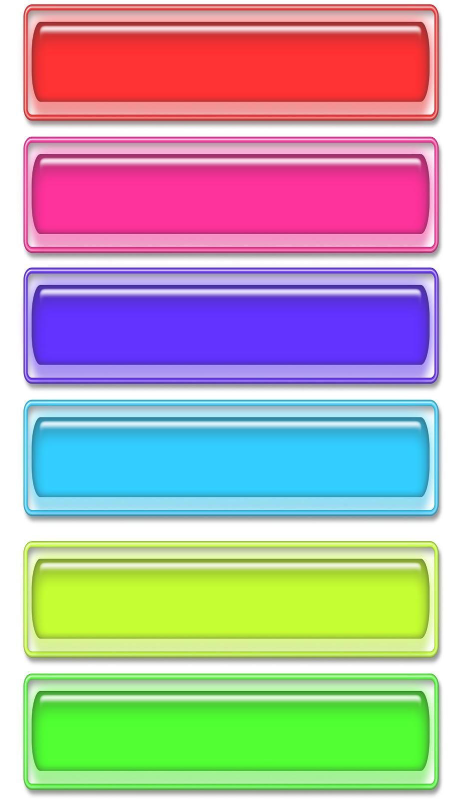 Mas etiquetas de colores para tus niños, brillantes coloresque las ...