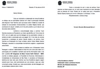 Carta do Senador Suplicy ao Ministro Celso Amorim