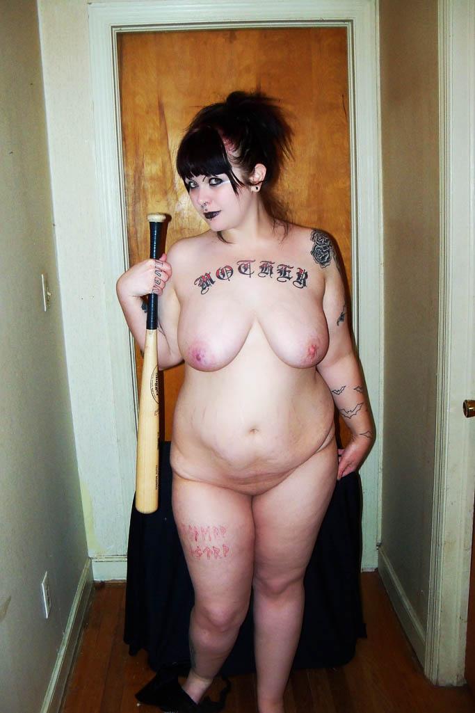 Chubby goth girls
