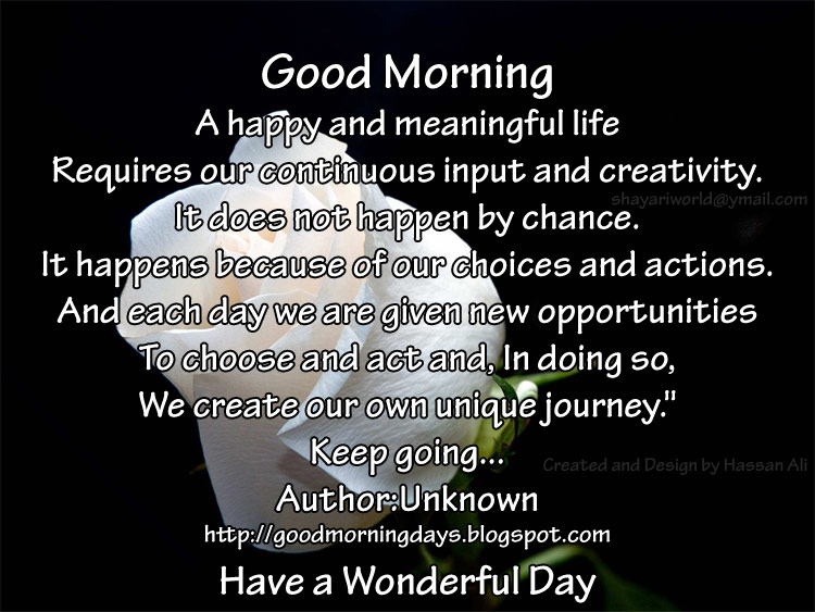 Good Morning Spiritual Quotes Stunning Hum Tum Humourtum Good Morning Friends.have A Wonderful
