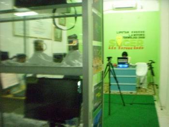 TAMPIL DALAM PAMERAN APKINDO LAMPUNG DI SIMPUR CENTRE BANDAR LAMPUNG 2009