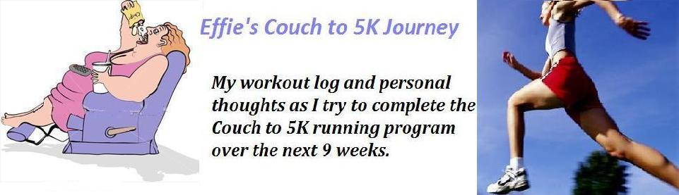 Effie's Couch to 5k Journey