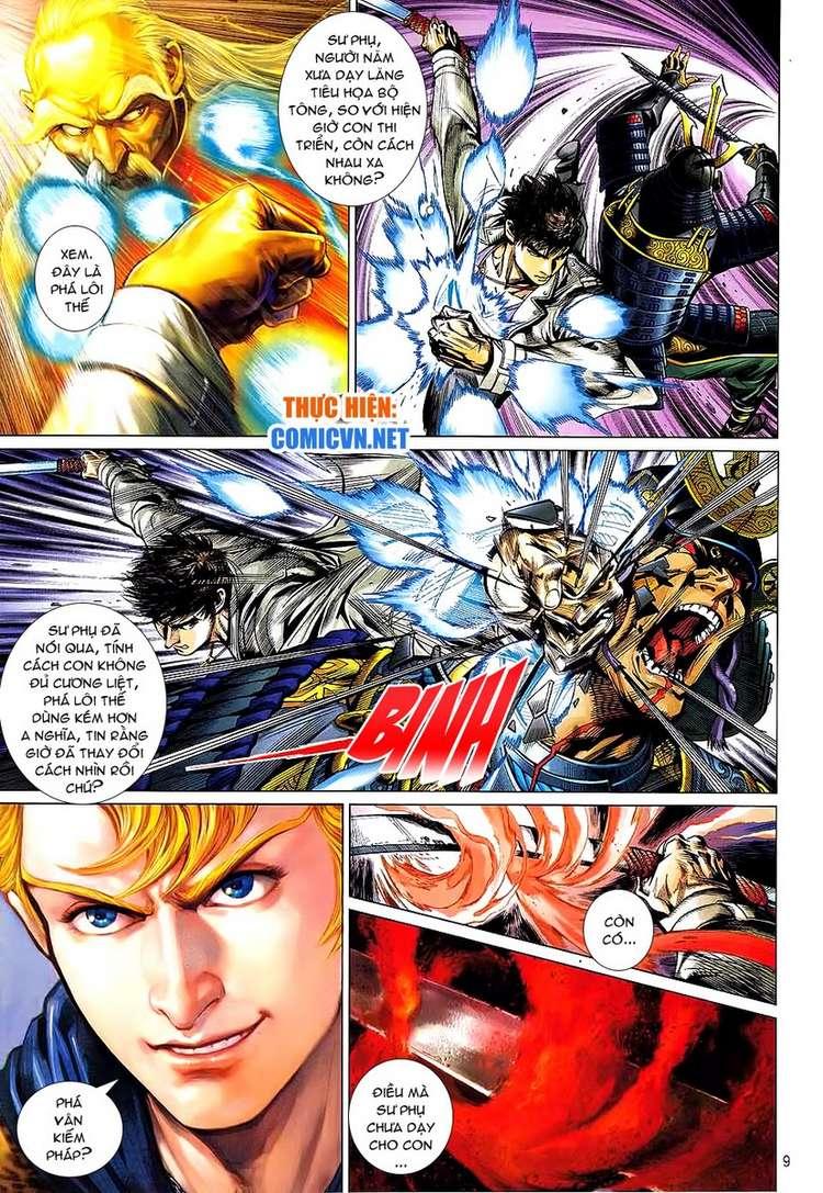Kungfu (Công Phu) chap 34 - Trang 9