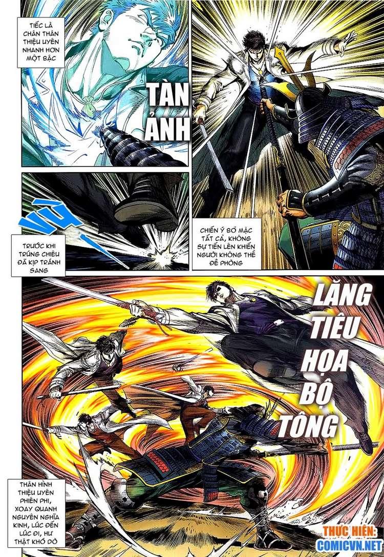 Kungfu (Công Phu) chap 34 - Trang 8