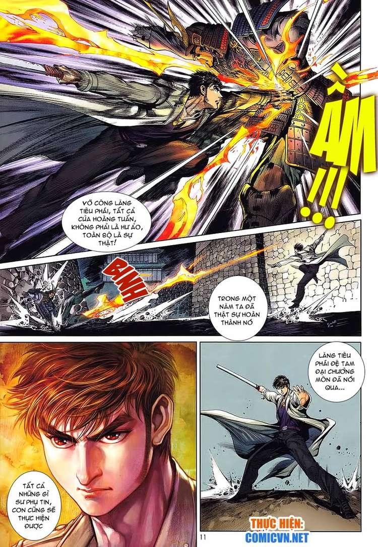 Kungfu (Công Phu) chap 34 - Trang 11