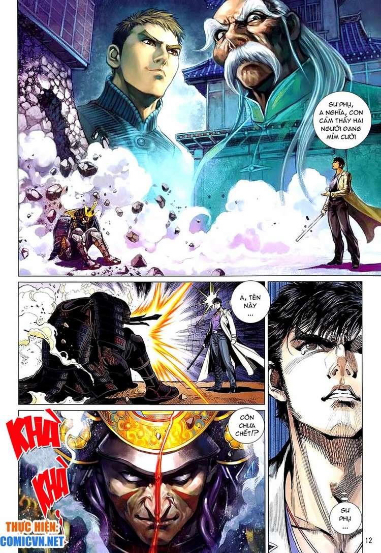 Kungfu (Công Phu) chap 34 - Trang 12