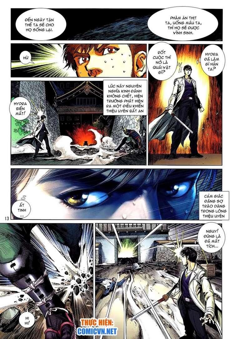 Kungfu (Công Phu) chap 34 - Trang 13