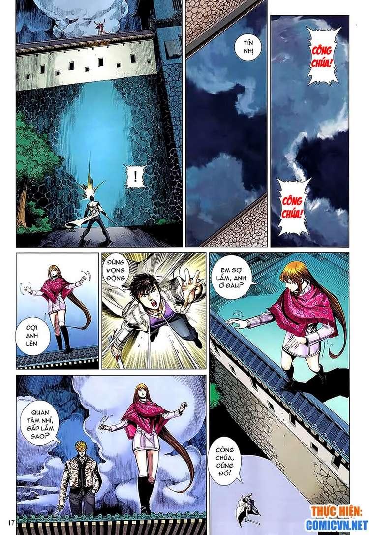 Kungfu (Công Phu) chap 34 - Trang 17